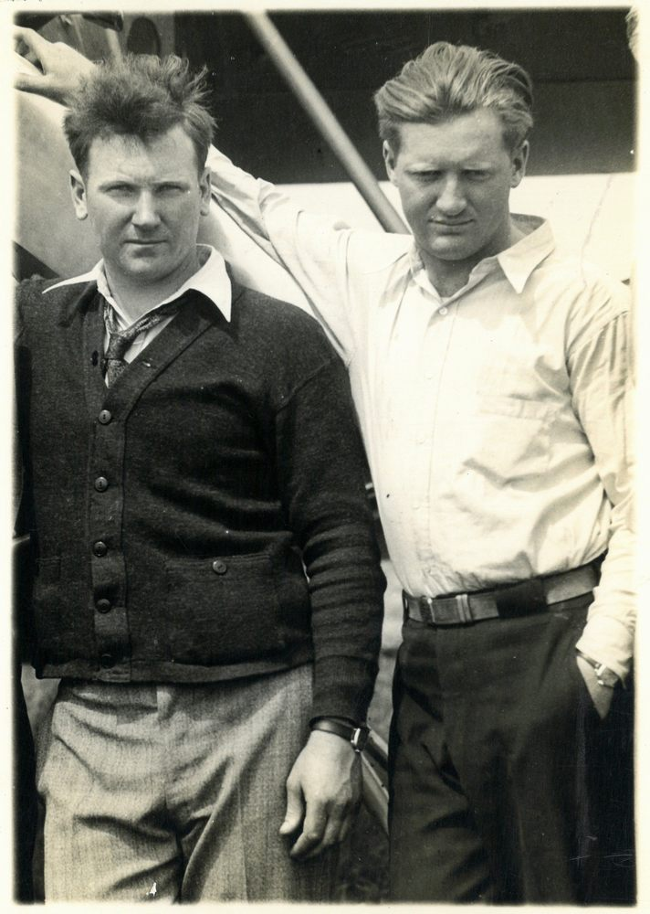 John and Kenneth Hunter
