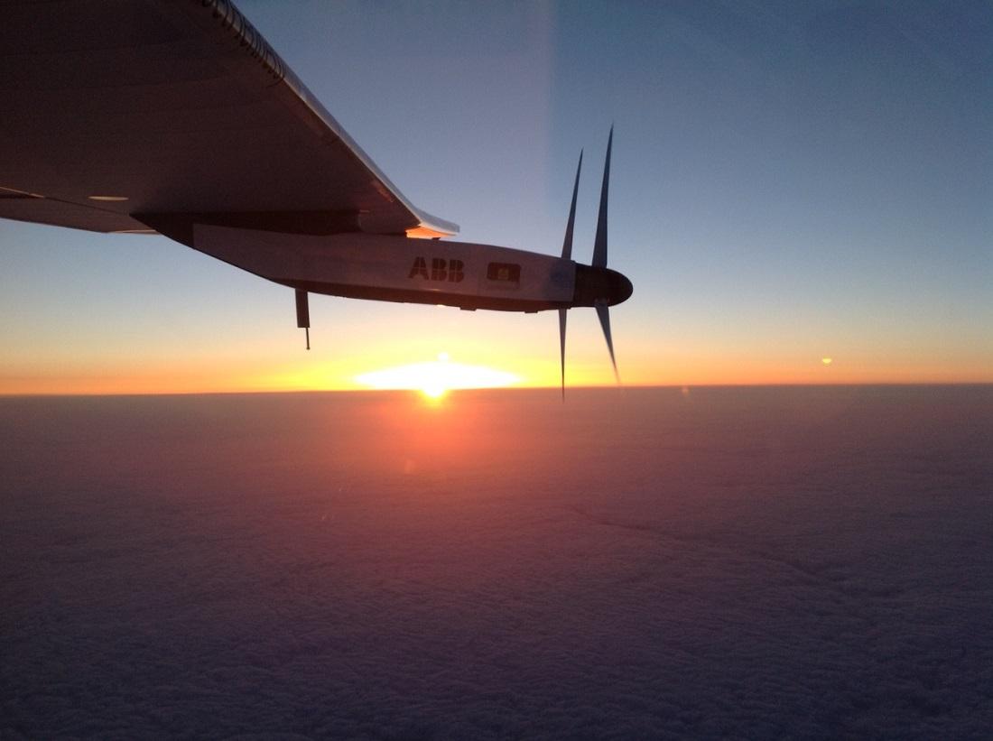 Traversée de l'Atlantique Solar Impulse 2016