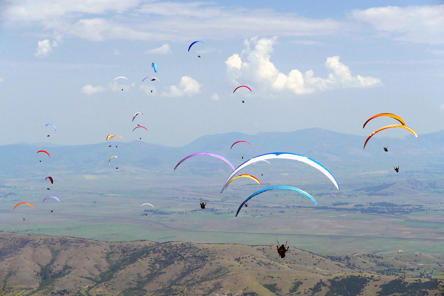 16th FAI World Paragliding Championship in North Macedonia
