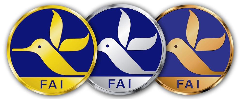 Colibri Badges World Air Sports Federation