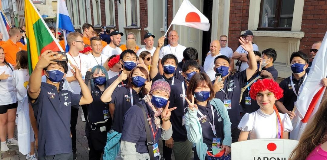 Team Japan at 5th Junior HAB 2021