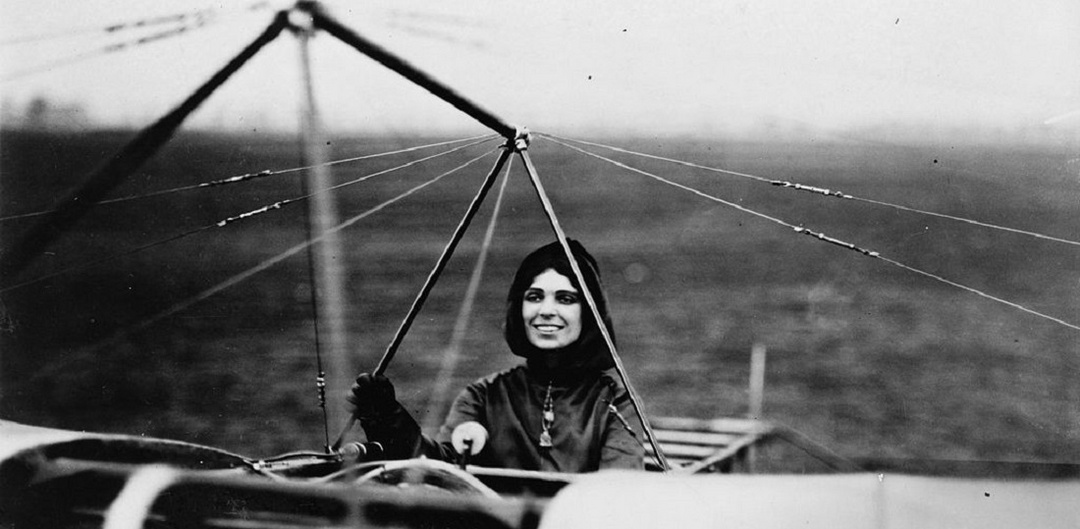 Harriet Quimby 1st American female pilot
