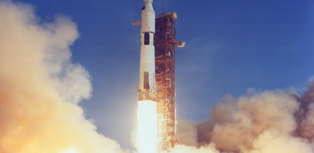 Apollo 11 lift off NASA
