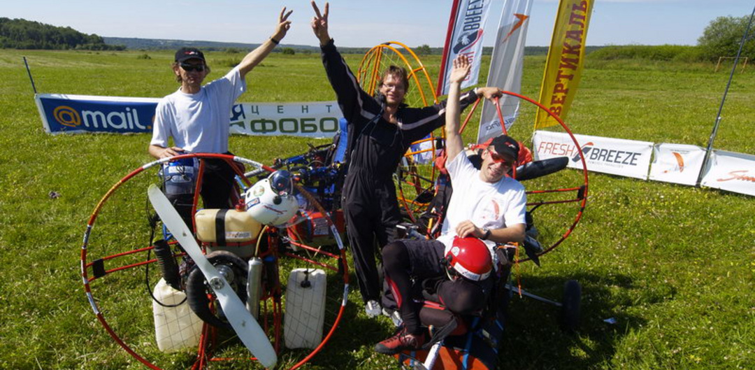 23 June 2005: The Paramotoring Journey of Alexander Bogdanov through