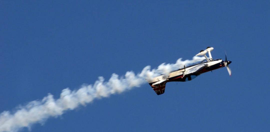 airplane aerobatic