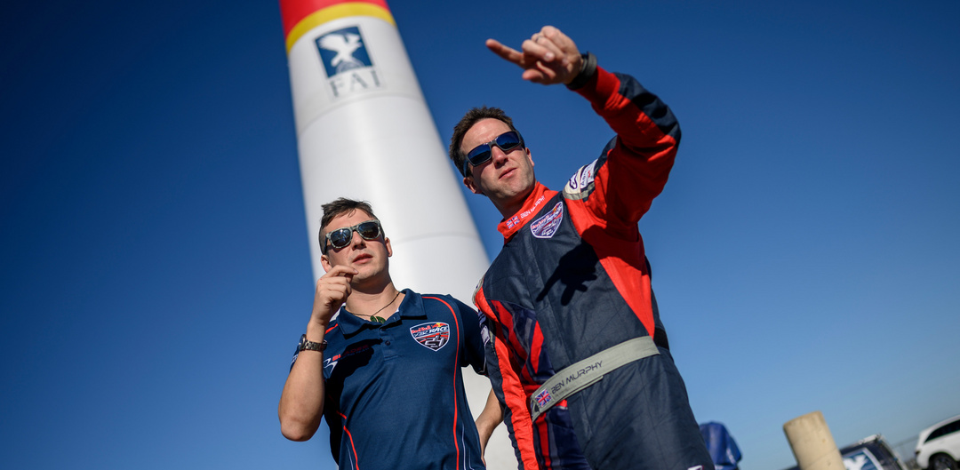 Ben Murphy in the Red Bull Air Race