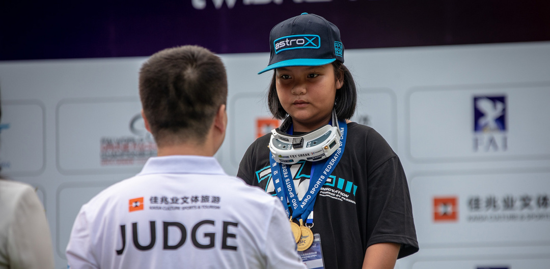 Thailand's Wanraya Wannapong (age 11!) wins 2018 China Drone