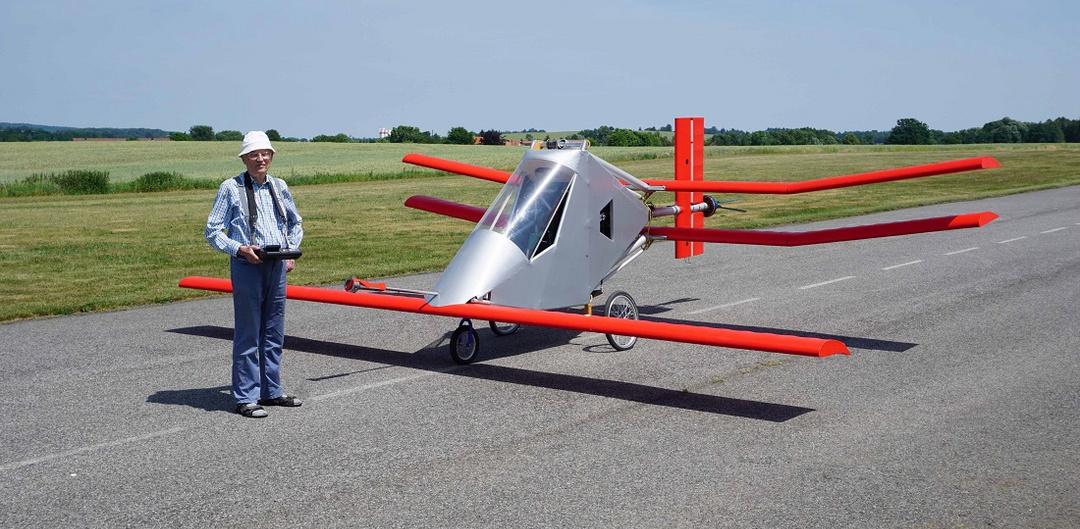 Karl-Heinz Helling aeromodelling