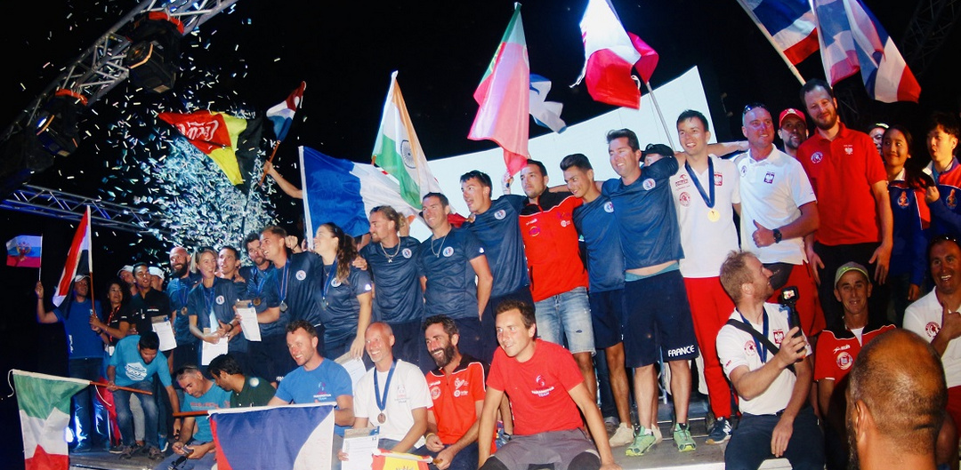 French win at the 3rd FAI World Paramotor Slalom Championships