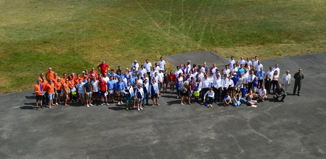 5th FAI European Junior Gliding Championships group shot