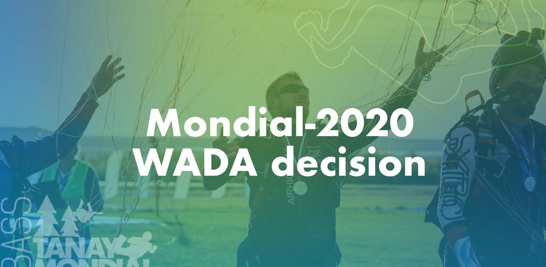 WADA Decision Mondial
