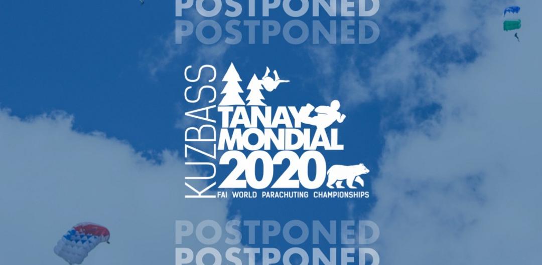Mondial 2020 postponed
