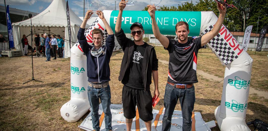 Moritz Werffeli wins EPFL Drone Days