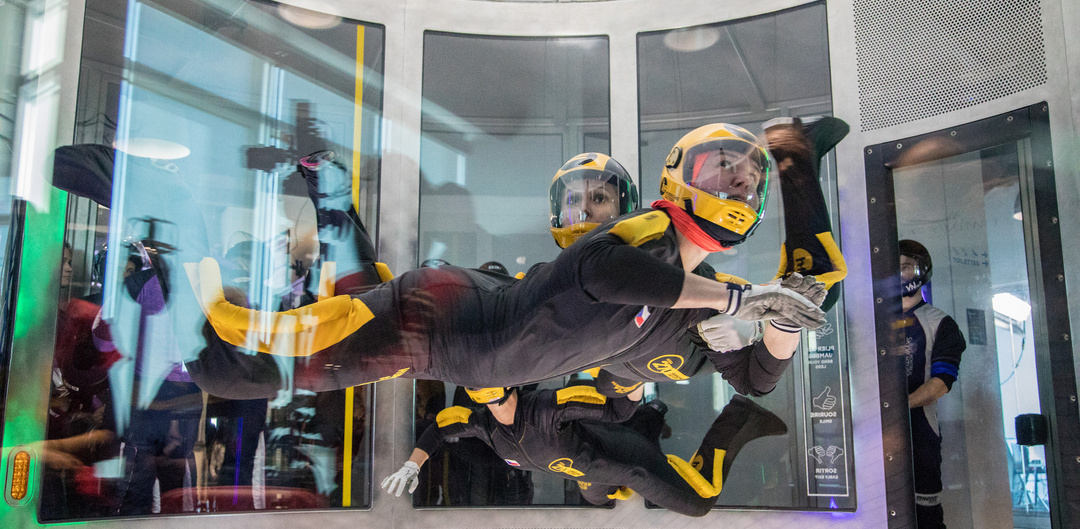 4-WAY FS at the 2nd World Indoor Skydiving Championships