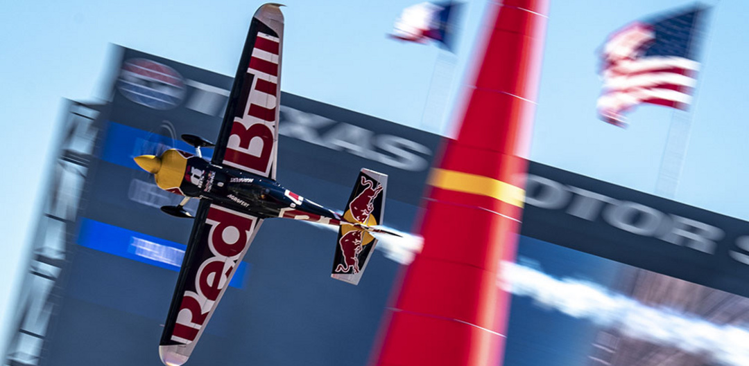 Martin Sonka at the Red Bull Air Race 2018 in Texas. Photo: Mihai Stetcu/Red Bull Content Pool